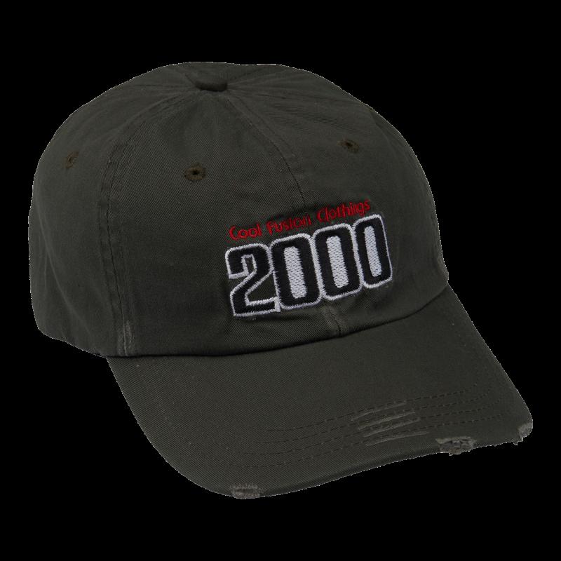 CAP :TEAM 2000 - Mørkegrøn - Fitted