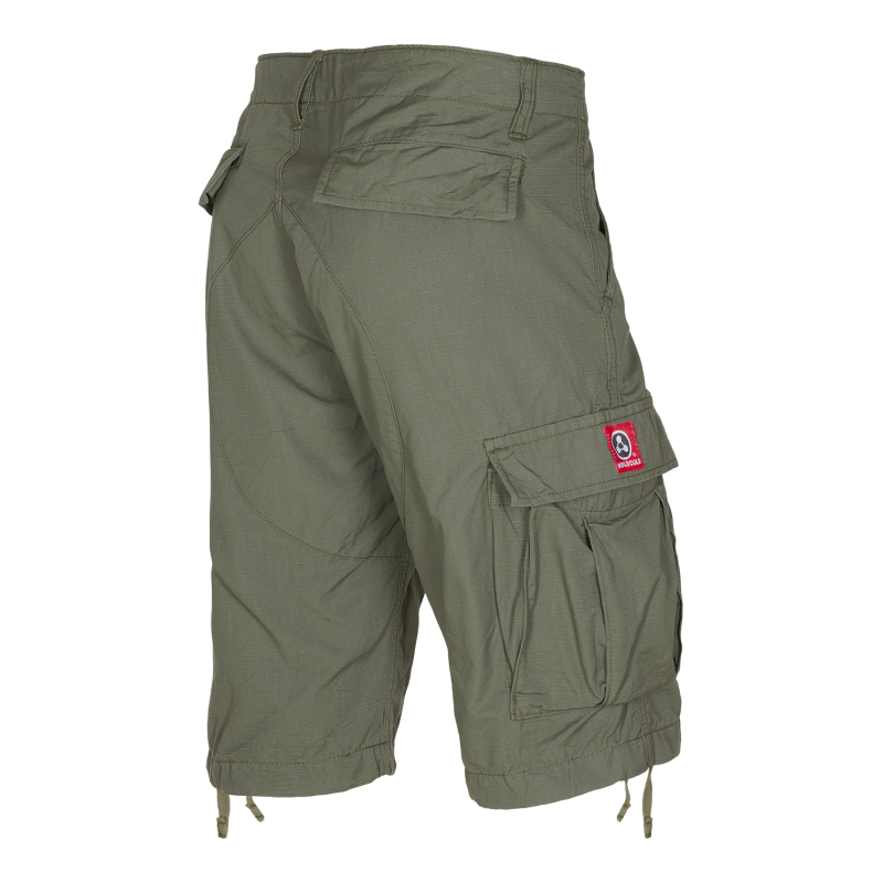 CARGO SHORTS fra MOLECULE - FEATHERWEIGHTS 55002 - OLIVE GREEN