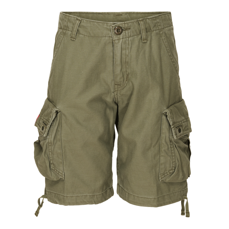 xCARGO SHORTS MOLECULE - GROMMITS 589 - OLIVE GREEN