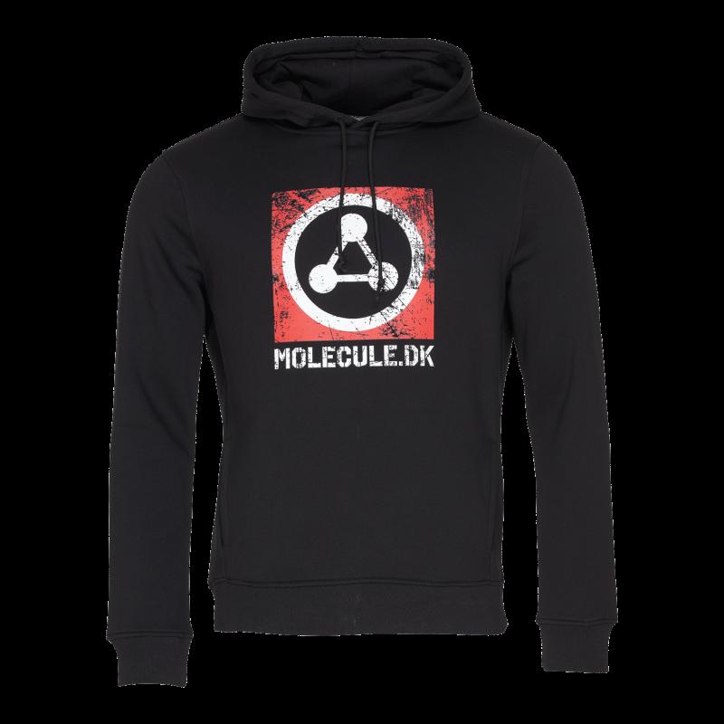 EPIC HOODIE - M - SORT : Molecule Hættetrøje