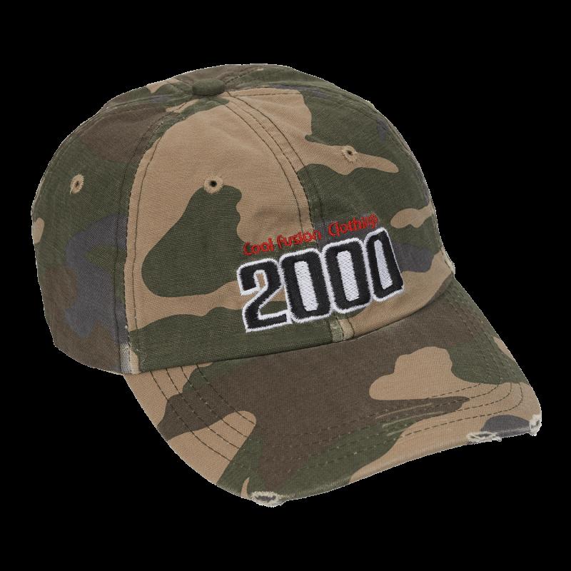 CAP : TEAM 2000 - Camo - Strapback