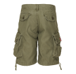 CARGO SHORTS MOLECULE - GROMMITS 589 - OLIVE GREEN