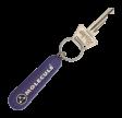KC001 - NØGLERING - LILLA : Molecule keychain